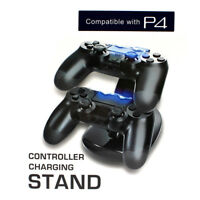 Dual USB Controller Charger Charging Stand Station Dock for PS4 Dualshock ho