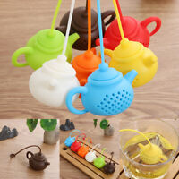 Gadget Teapot-Shape Teaware Strainer Tea Leaf Filter Diffuser Tea Infuser