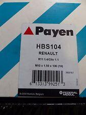 Neue Original 1xZylinderkopfschraubensatz Payen HBS104 R11 1.4/Clio 1.1 NEU/OVP
