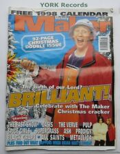 NEW MUSICAL EXPRESS NME - December 20/27 1997 - Brilliant / The Fast Show