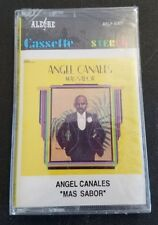 ANGEL CANALES MAS SABOR ON ALEGRE RECORDS (Cassette SEALED