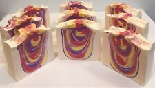 Handmade All Natural Healthy Soaps-Berry Vanilla Twister