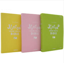 Junior Korean English Bible Study Color Cartoon Bible For Kid with Two Language
