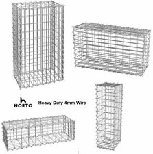 More details for gabion basket / cages retaining stone garden wall heavy duty 4m wire