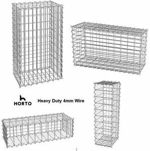 Gabion Basket / Cages Retaining Stone Garden Wall Heavy Duty 4m wire