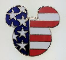 Disney WDW Epcot World Showcase Mickey Head & Ears United States Trading Pin 960