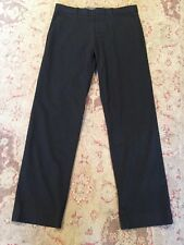 GAP Tailored Men's Straight Fit Charcoal Gray Viscose Trousers Sz 30