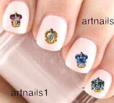 Harry Potter Hogwarts Houses Nail Art Water Decal Stickers Salon Polish Manicure
