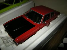 1:18 Minichamps Ford Capri I RS 2600 1970 Limited Edition 1 of 576 pcs. rot OVP