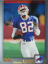 NFL 127 Kwame cauil Buffalo Bills TOPPS 2001