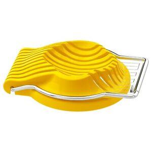IKEA Slat Boiled Egg Slicer Stainless Steel Easy Cutter Mushroom Kitchen Tools