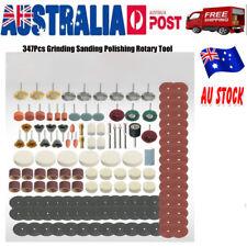 347Pcs Dremel Rotary Tool Accessories Kit Grinding Polishing Cutting Sanding