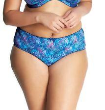3XL Style #6165 Storm Eden Print NWT $22 Goddess Kayla Brief Panty Sizes Med