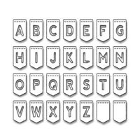 NEW Stitch Alphabet A-Z Letters Die Cutting UK Seller Scrapbook Card Craft