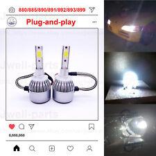 880 LED Fog Driving Light Bulbs Conversion Kit Canbus Lamp 60W 6000K White
