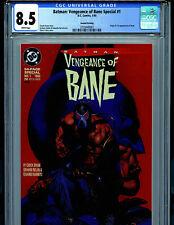 Batman Vengeance of Bane #1 CGC 8.5  2nd Print 1993 1st Bane DC Comics B18