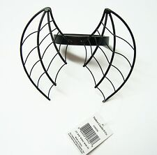 Yankee Candle Black Bat Wings Web Candle Topper New NWT