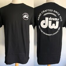 """DW DRUMS Official Hand Crafted Since 1972 """"The Drummers Choice"""" T-Shirt Medium"""