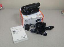 Sony Handycam FDR-AX33 Camcorder - Black Digital 4K Video Camera Recorder