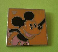 Neon Mickey - (Orange) Hdden Mickey Mouse Disney Pin