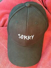 Sorry Hat From The Justin Bieber Purpose Tour VIP Merchandise!
