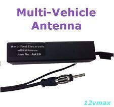 UNIVERSAL ELECTRONIC AMPLIFIED CAR ANTENNA HIDE-AWAY AM/FM (44-ua20 Generic)AA20