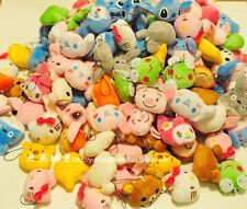 10pcs plush doll toy keyrings bulk totoro domo kun hello kitty disney rilakkuma