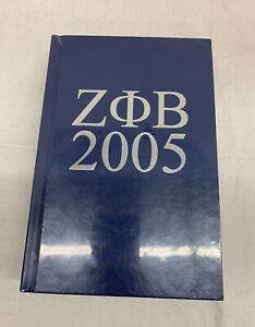 Zeta Phi Beta Sorority Membership Directory 2005 Hardcover