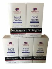 Lot of 5 NEUTROGENA HAND CREAM ORIGINAL NORWEGIAN FORMULA  2 OZ.