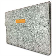 2016/17 Macbook Pro Laptop iPad Tablet Slip Case Sleeve Cover Light Grey Fleece