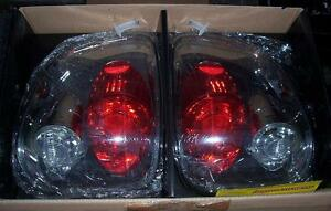 New IPCW Smoked Euro Tail Lights CWT-CE501FCS for 1997-2003 Ford F150 Flareside