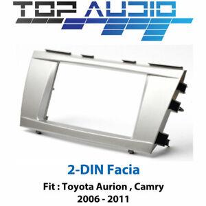 Toyota Camry Aurion radio Double 2 Din fascia dash panel facia kit trim
