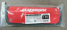 GEARWRENCH 70-553G 7 PC TOOL STEEL PIN PUNCH SET MADE IN USA UPC:099575705533