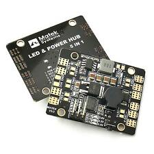 LED Power Hub 5in1 V3 Distribution Board PDB BEC Alarm Finder for QAV210 QAV250