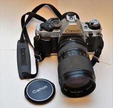 Canon AE-1 Program 35mm SLR Film Camera w/ Mitakon MC 1: 3.5/4.5 f 28-80mm lens