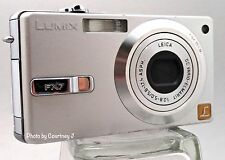 Panasonic Lumix DMC-FX7 SIlver Mechanically Reconditioned DigitalCamera ClearPic