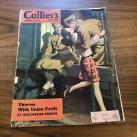 Collier's Magazine January 9, 1943 Issue - WWII Era - GREAT ADS - VINTAGE RARE