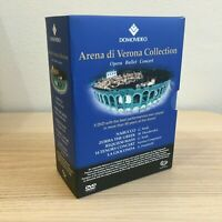 Arena di Verona Collection _ 6 DVD BoxSet Cofanetto _ Pavarotti Verdi Nabucco