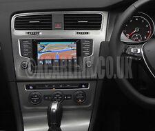 VW Golf Mk 7 MK VII MIB SatNav GPS Satellite Navigation Touch Screen Interface