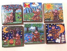 Piastrelle calamite assortite 30 pezzi Cantico Creature di San Francesco Assisi