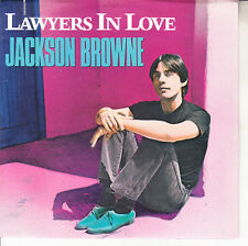 """JACKSON BROWNE Lawyers In Love PICTURE SLEEVE 7"""" 45 record NEW + jukebox strip"""