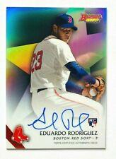 2015 Bowman's Best Eduardo Rodriguez AUTO Refractor RC, Red Sox Rookie!