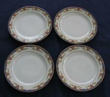 Vignaud St. Quentin – 4 BREAD & BUTTER PLATES - Limoges France - NICE