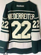 Reebok Premier NHL Jersey Minnesota Wild Nino Niederreiter Green sz S