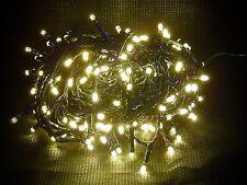 200 de LED Lumières Chaîne SAPIN NOËL ÉCLAIRAGE EXTÉRIEUR BLANC CHAUD 30 m 70346