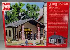 Busch 1566 Bausatz HO : Friedhoskapelle / Trauerhalle