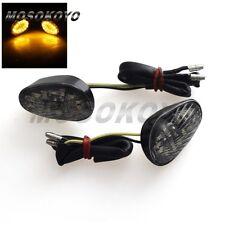 2 X Motorcycle Flush Mount Turn Signal Light  For Yamaha YZF R1 R6 R6S Custom