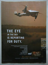 2/2004 PUB BELL HELICOPTER TEXTRON DRONE EAGLE EYE TILTROTOR NAVY MARINES AD