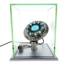1:1 Arc Reactor MK1 Clap Activated LED Light 2 Modes w/ Display Case