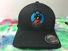Grateful Dead Wolf Embroidered Flexfit Ball Cap Black, Navy or Olive S/M L/XL 2X